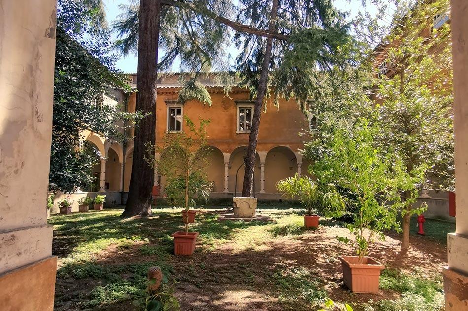 Cortile della Biblioteca Classense, Ravenna